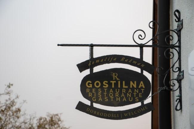 Na obisku v gostilni Ražman – okusno, lokalno, domače