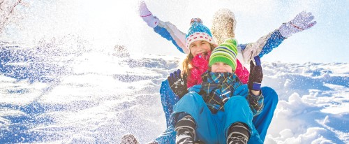 3 predlogi za družinska doživetja na snegu